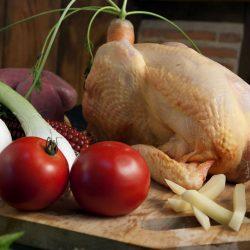 un bon poulet de chair