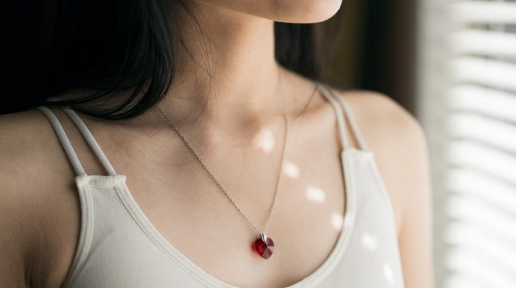 pendentif rubis