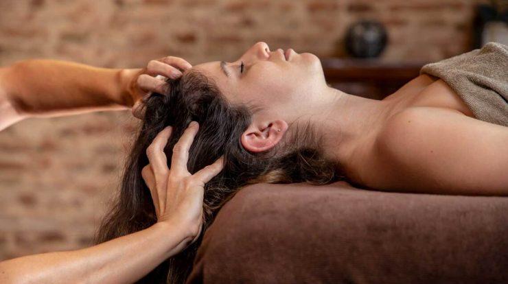 Le massage de tête